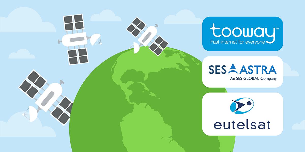 Acteurs internet par satellite