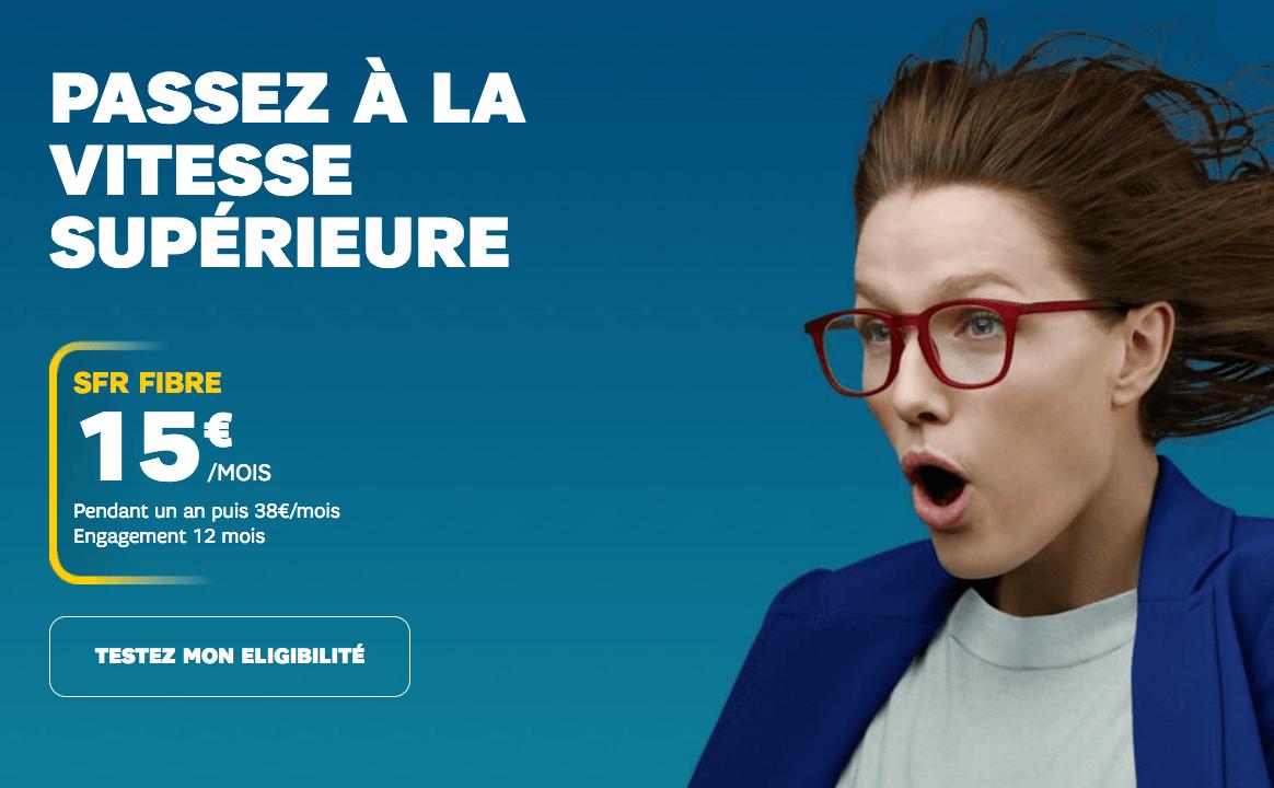 La box de SFR est en promotion à 15€