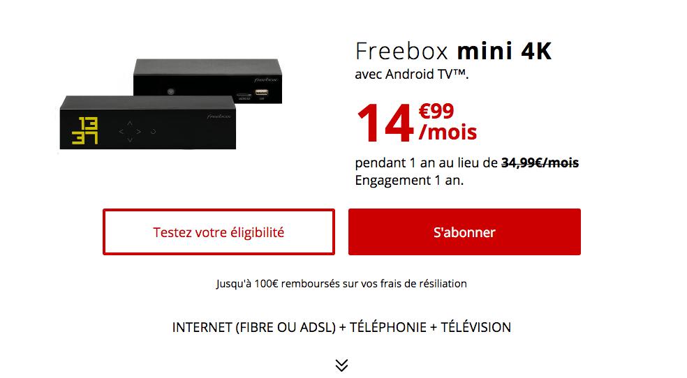 La box fibre de Free