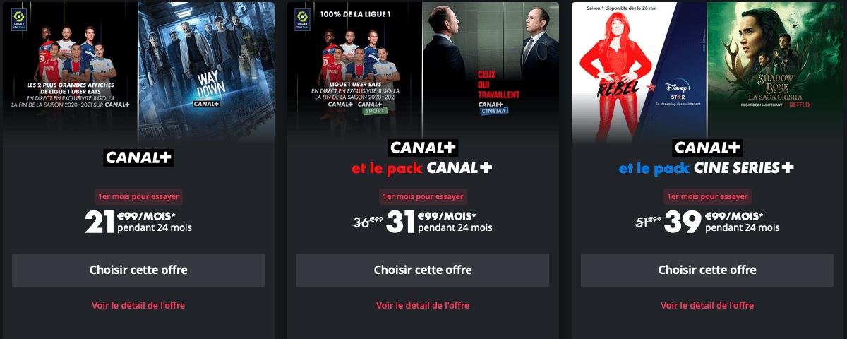 Abonnement Canal+