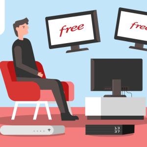 Toutes les chaînes TV Free disponibles