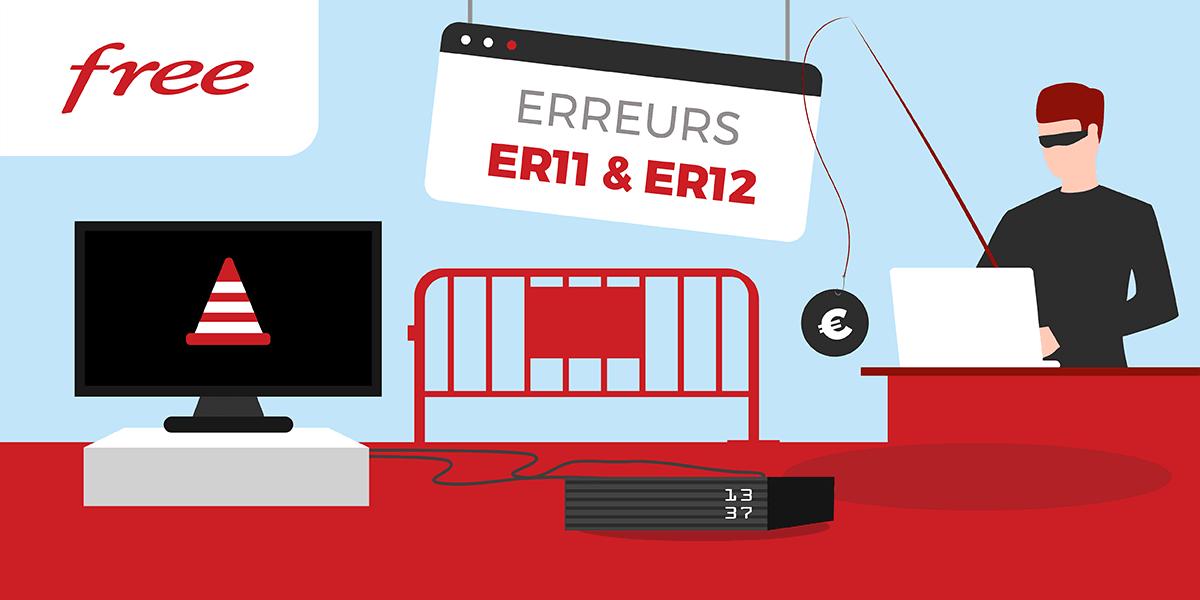 Codes erreur ER11 et ER12.