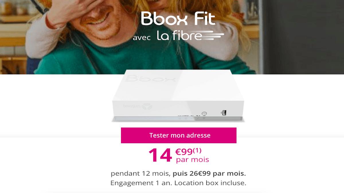 Box internet sans TV Bouygues Telecom
