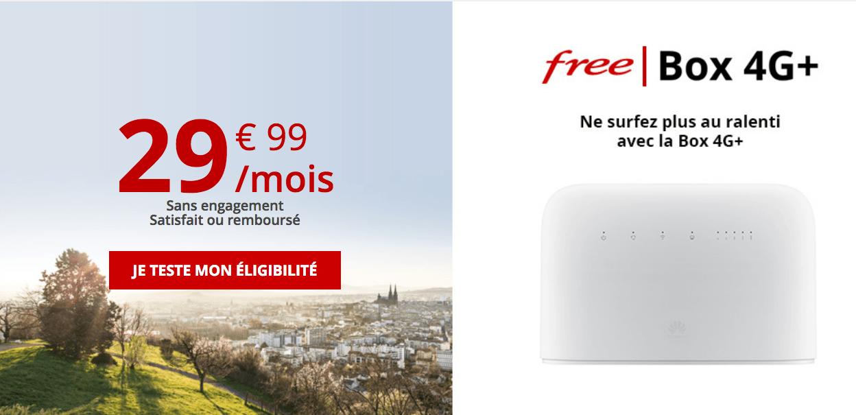 La box 4G de Free mobile