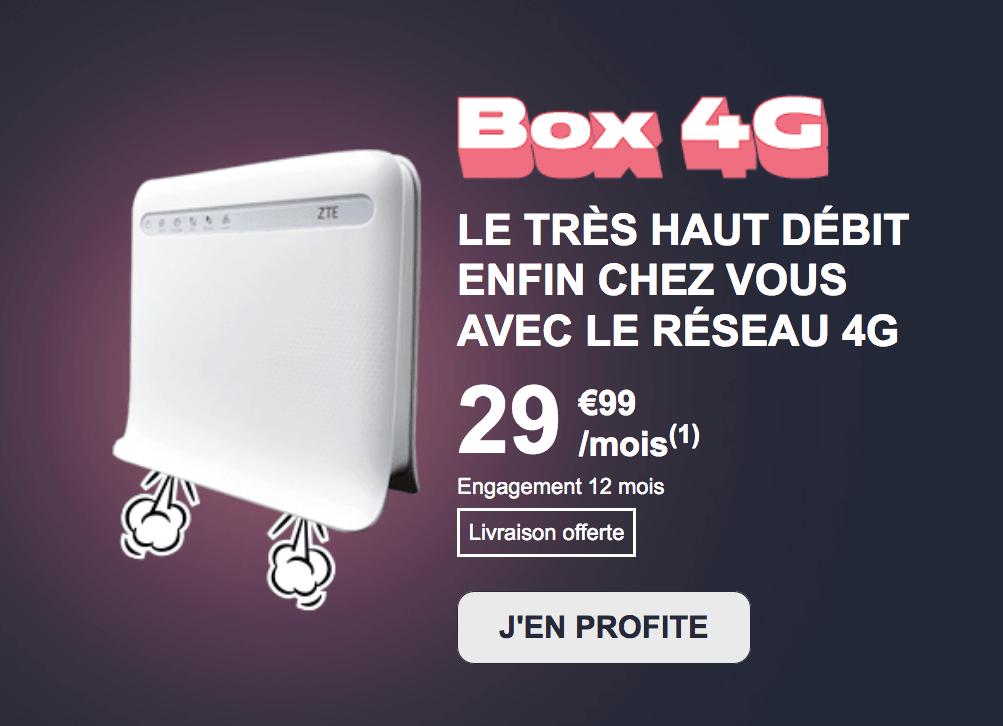 La box 4G de NRJ Mobile