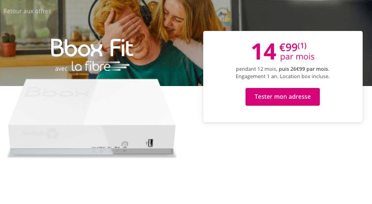 Bbox Fit à moins de 15€