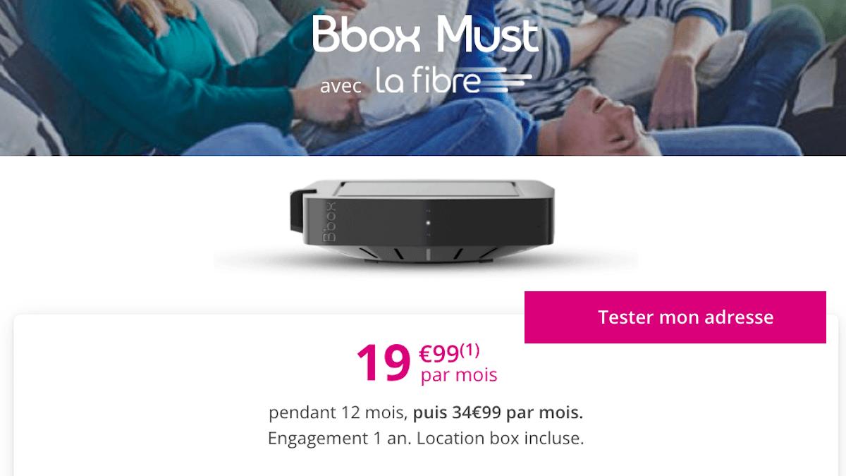 Box internet Bouygues Telecom triple play