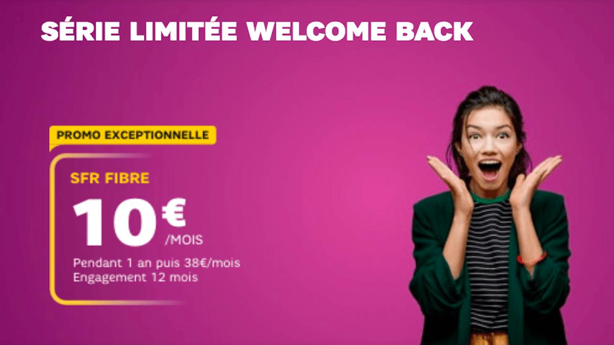 série limitée welcome back sfr box 10€
