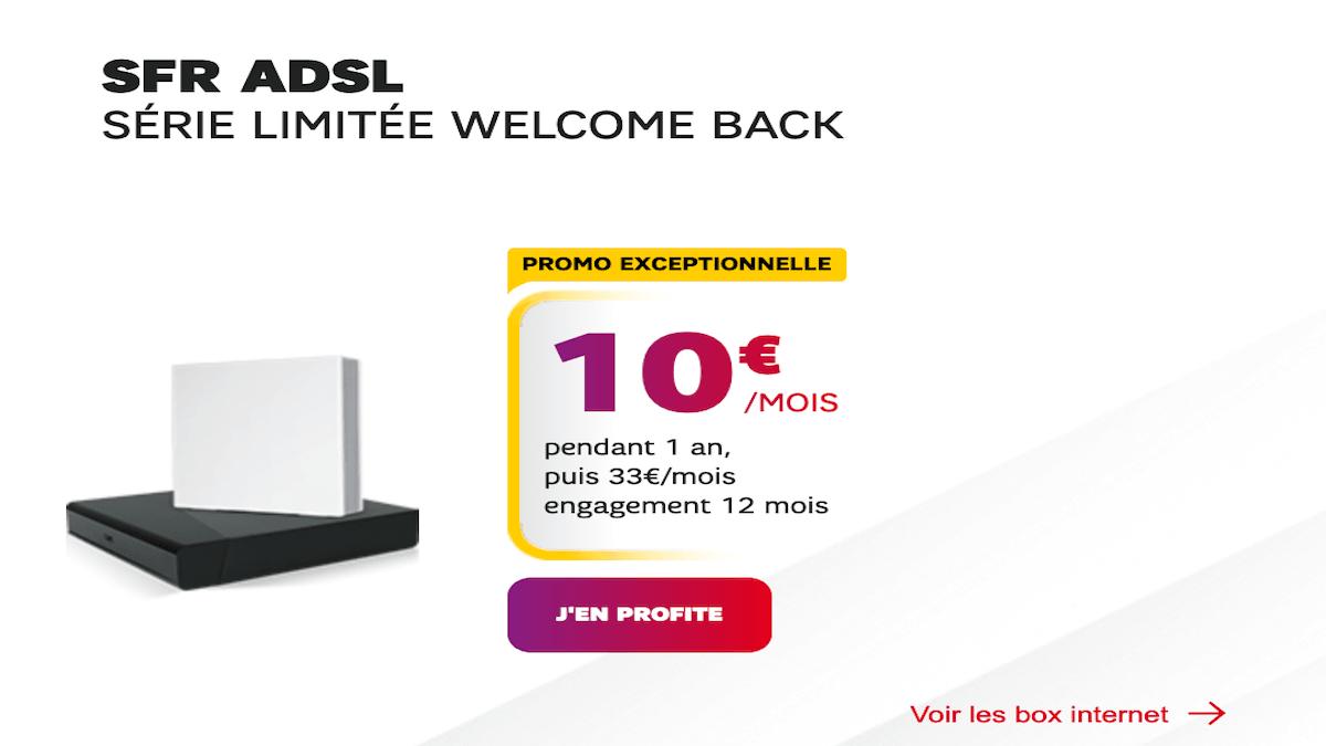 serie limitée très haut débit à 10€ sfr