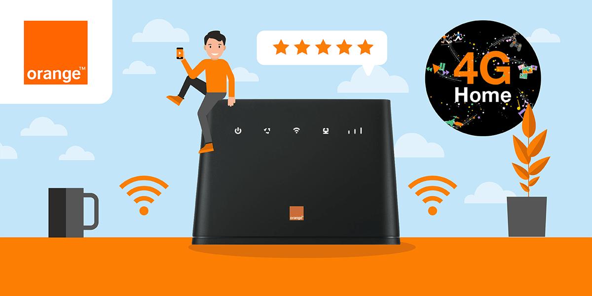 Tout savoir sur la 4G Home d'Orange.