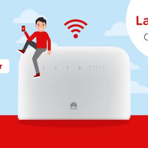 La box internet 4G de Free