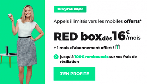 Box internet RED SFR