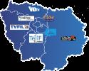 Chaîne TV mosaïque chaînes locales IDF