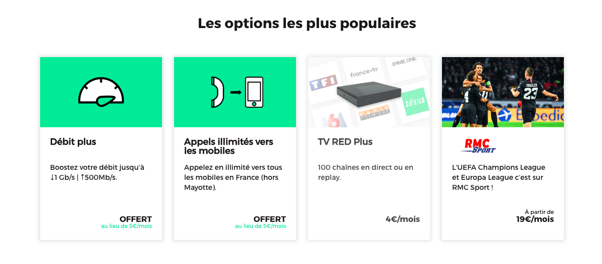 Options RED Box
