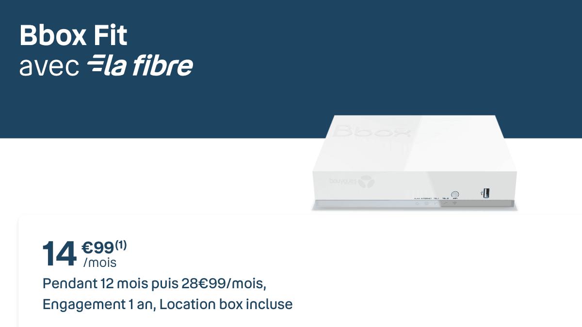 La Bbox Fit est en promo chez Bouygues Telecom.