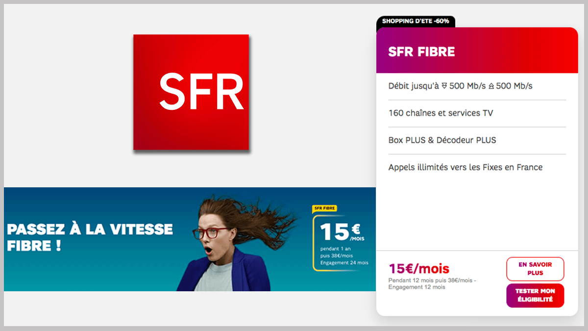SFR Fibre ou ADSL en promo