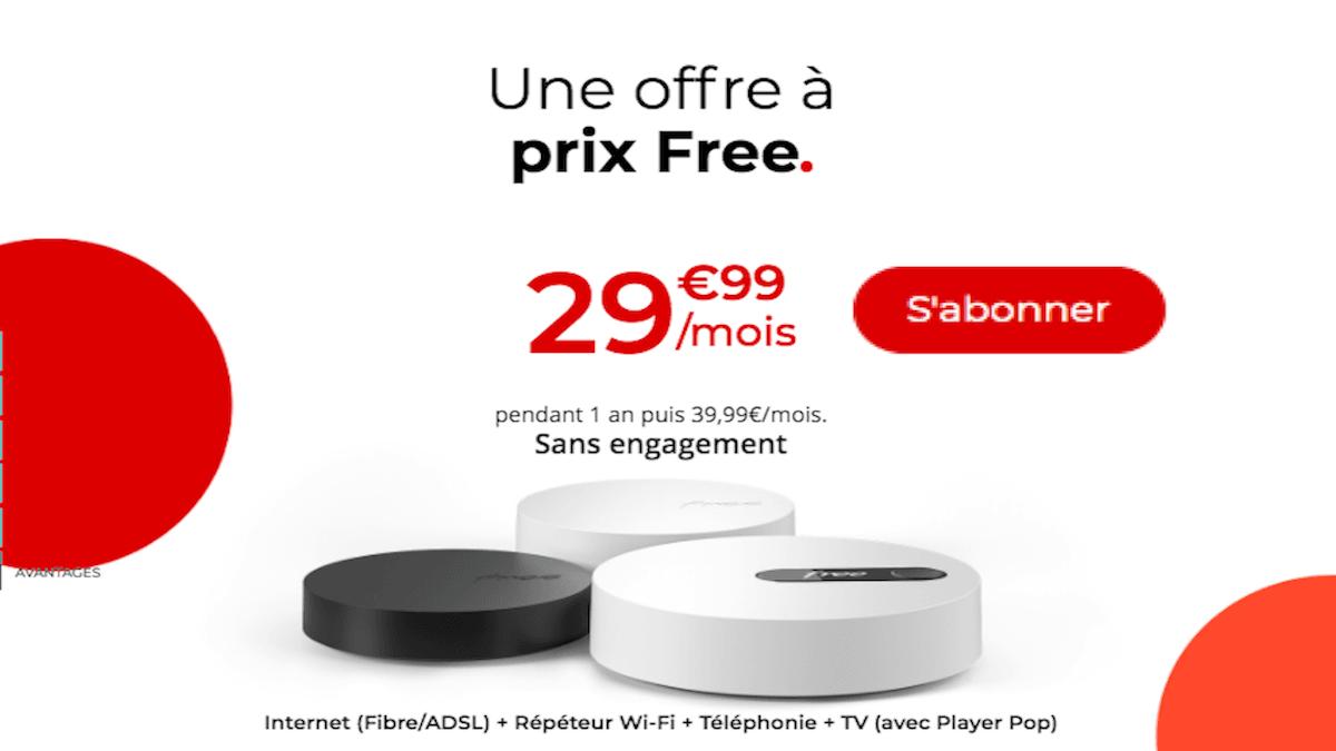 La Freebox Pop à petit prix