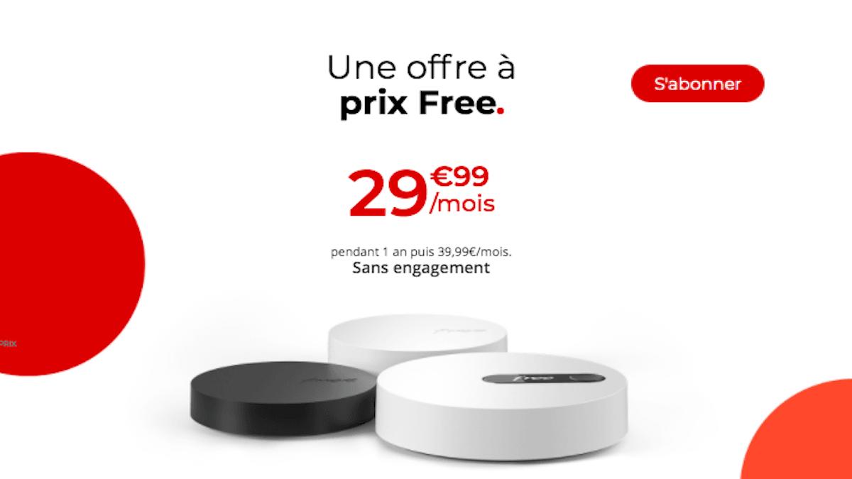 La Freebox Pop box internet pas cher