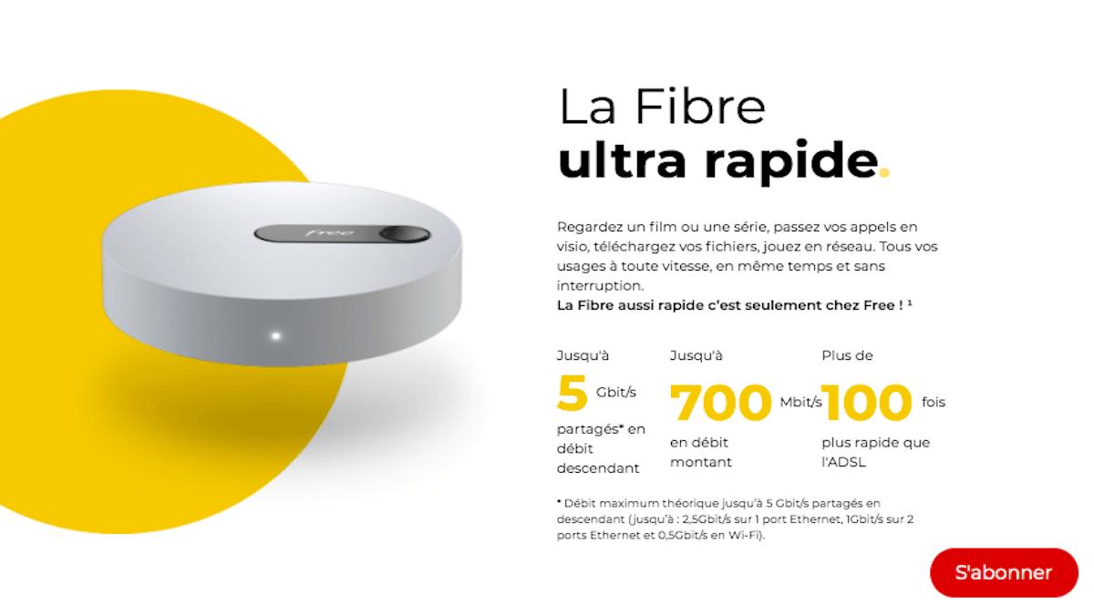 La Freebox Pop pour la fibre ultra rapide