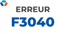 Code erreur F3040 Bouygues Telecom