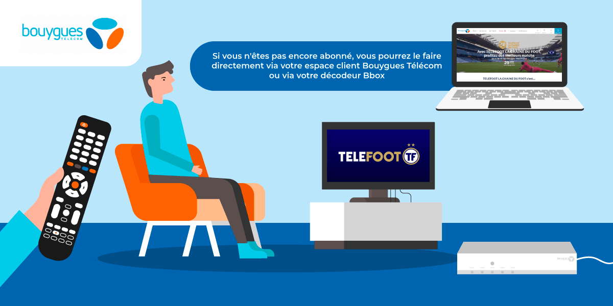 S'abonner à Telefoot avec sa Bbox