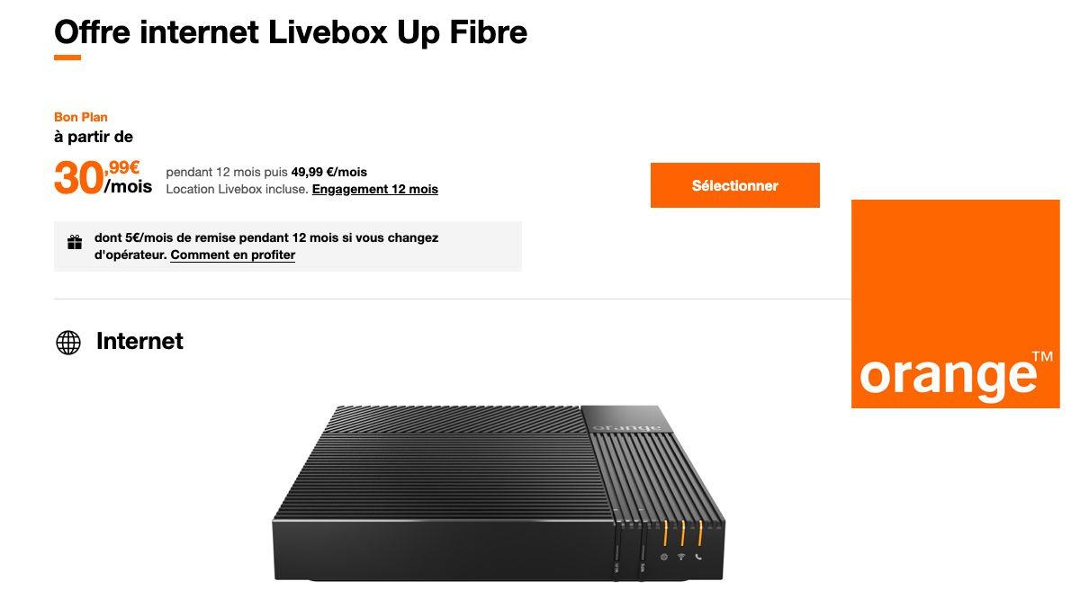 Orange Livebox Up Fibre