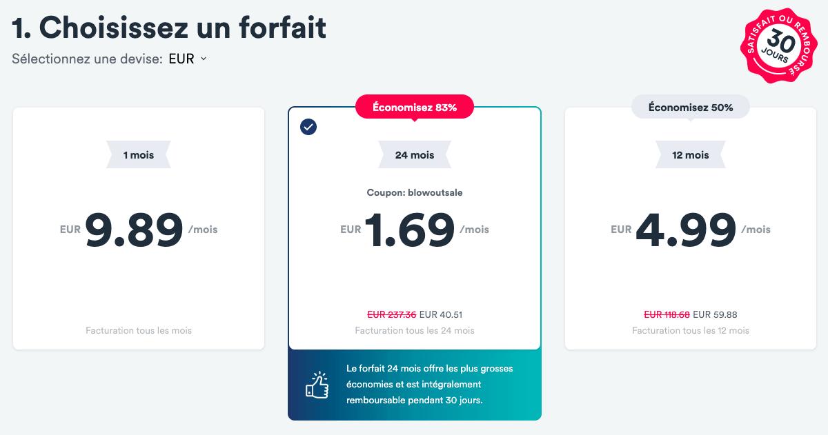 Surfshark VPN pas cher