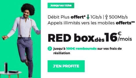 RED Box ADSL en promotion.