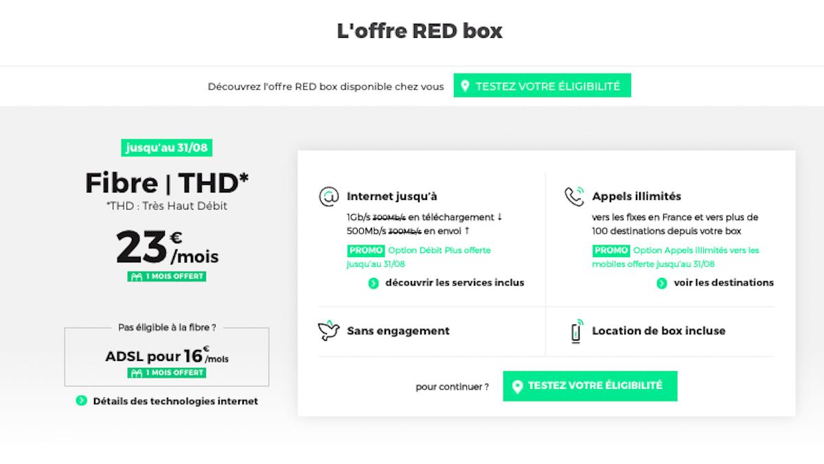 3 promos sur la RED Box