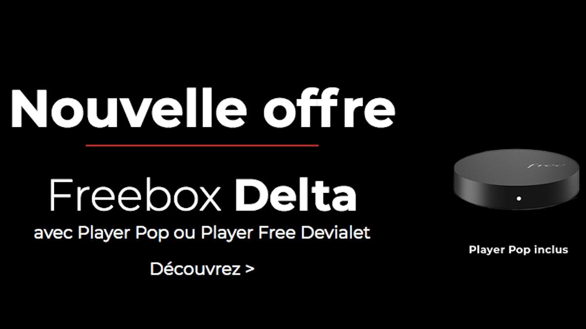 Box internet Freebox Delta