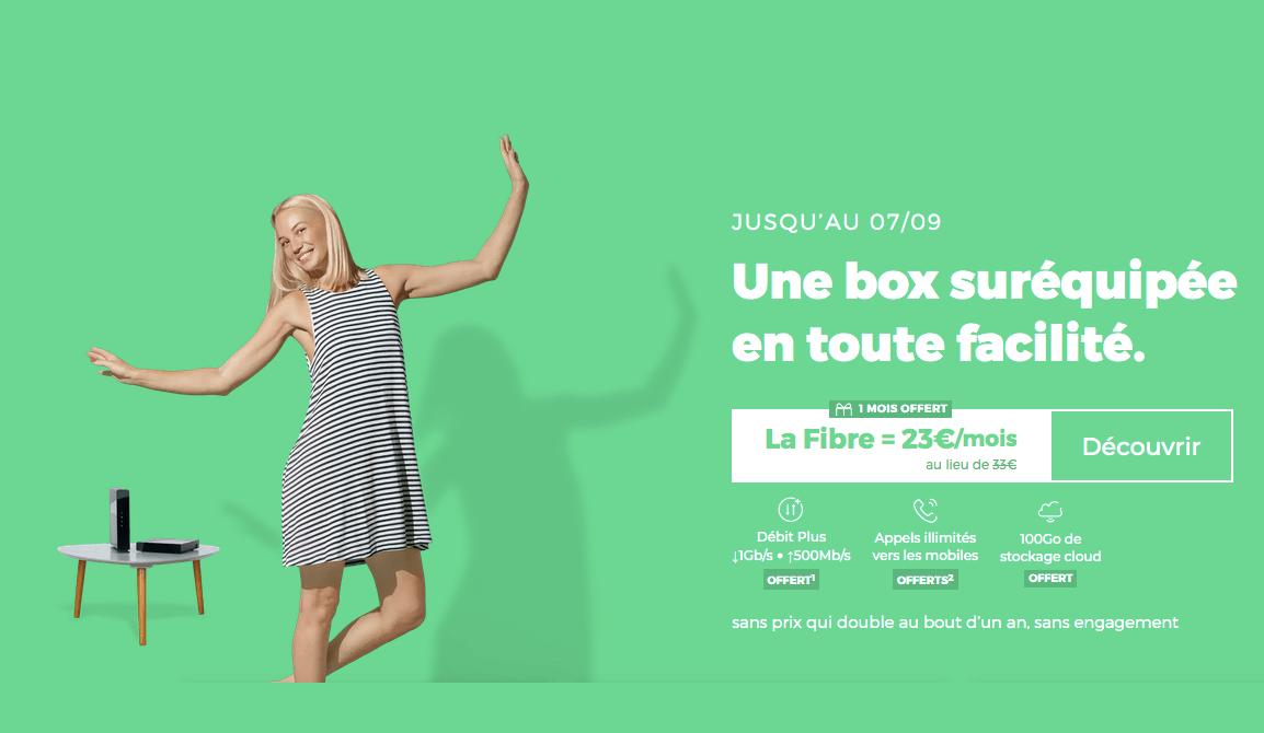 Box internet en promo RED box