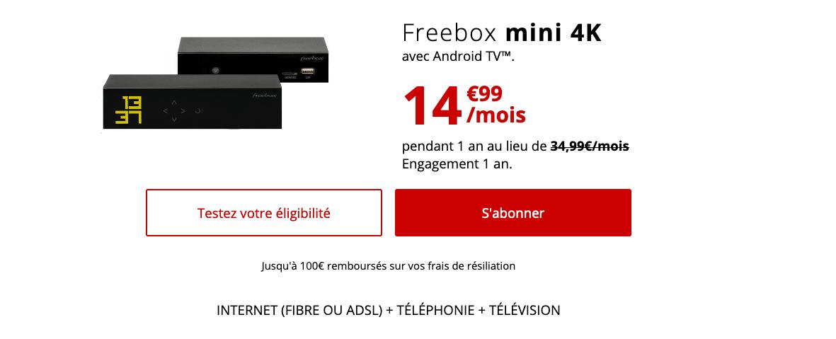 Freebox 4K Box Internet