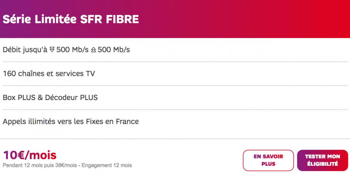 Forfait internet SFR