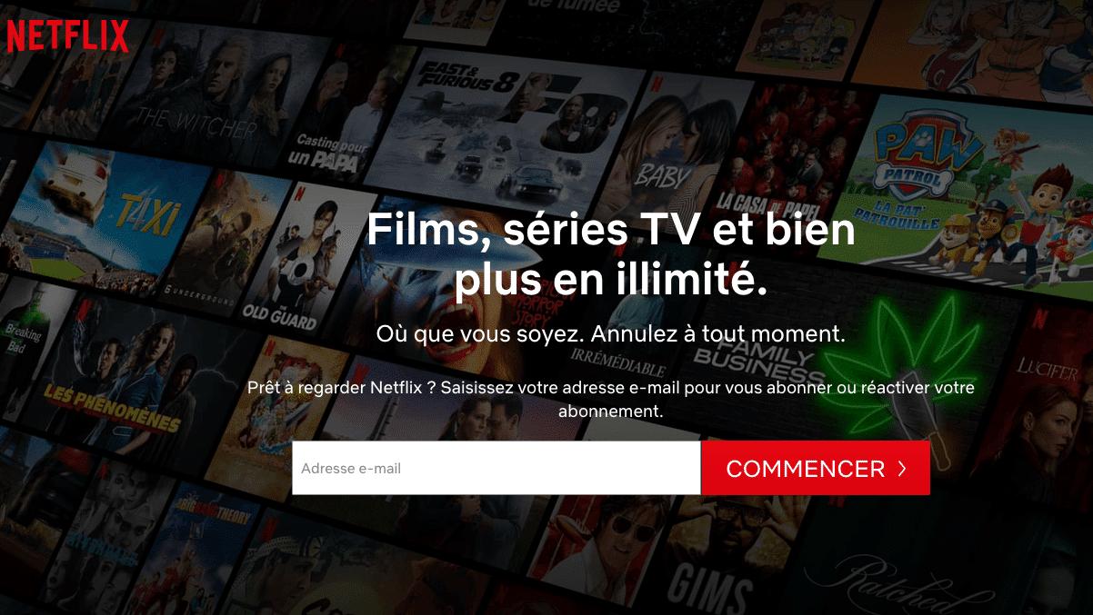 Nouveautés Netflix