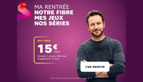 Promo fibre optique SFR