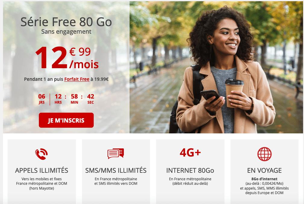 Série Free 80 Go