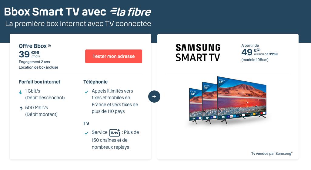 Bbox TV fibre