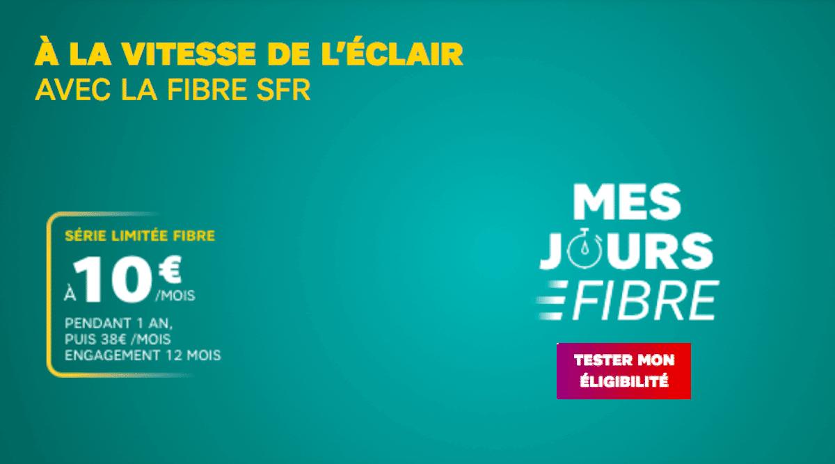SFR Box fibre à 10€