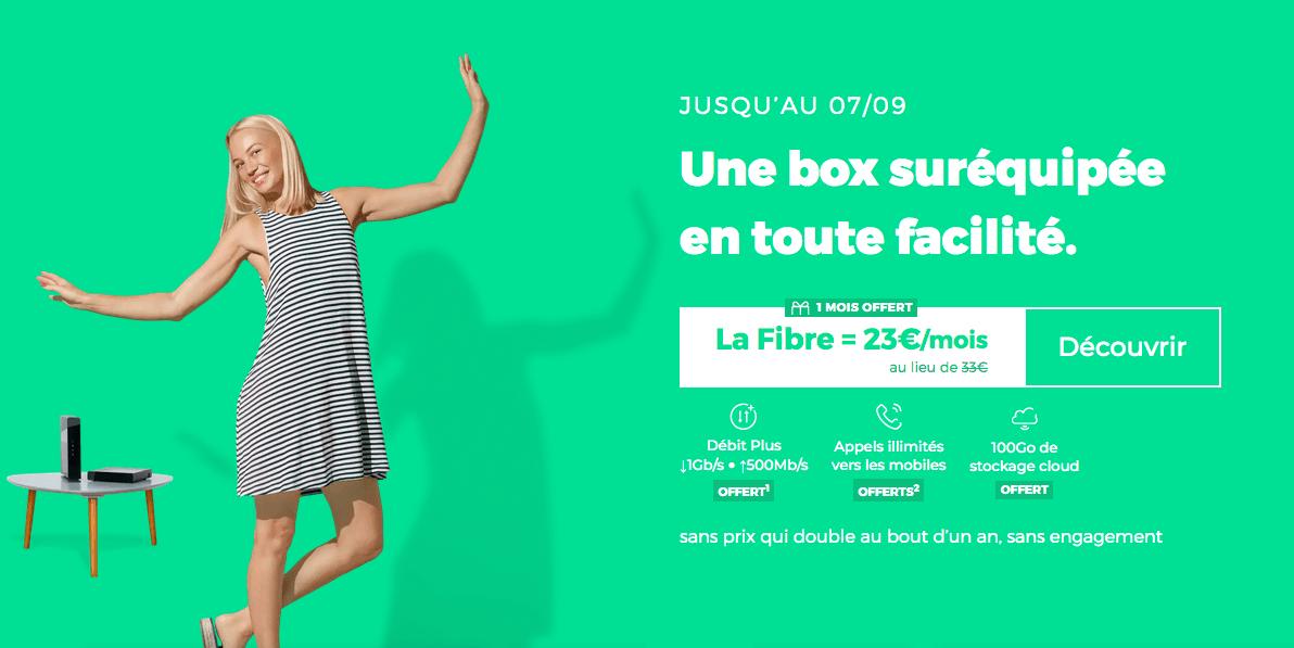La box sans engagement de RED by SFR