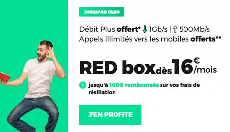 RED Box ADSL promo.