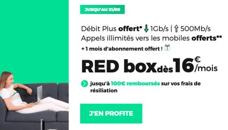 Promo RED Box 16€.