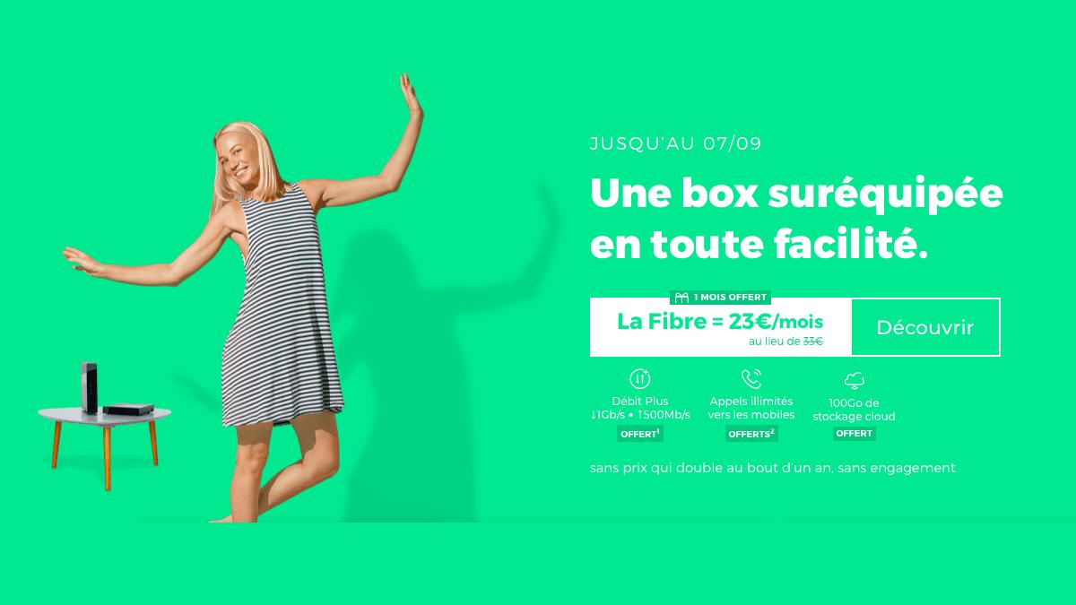RED by SFR : une box internet sans engagement