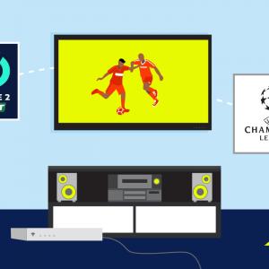 Regarder les championnats de football sur sa television