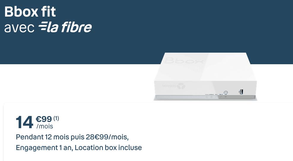 box internet Bbox Fit