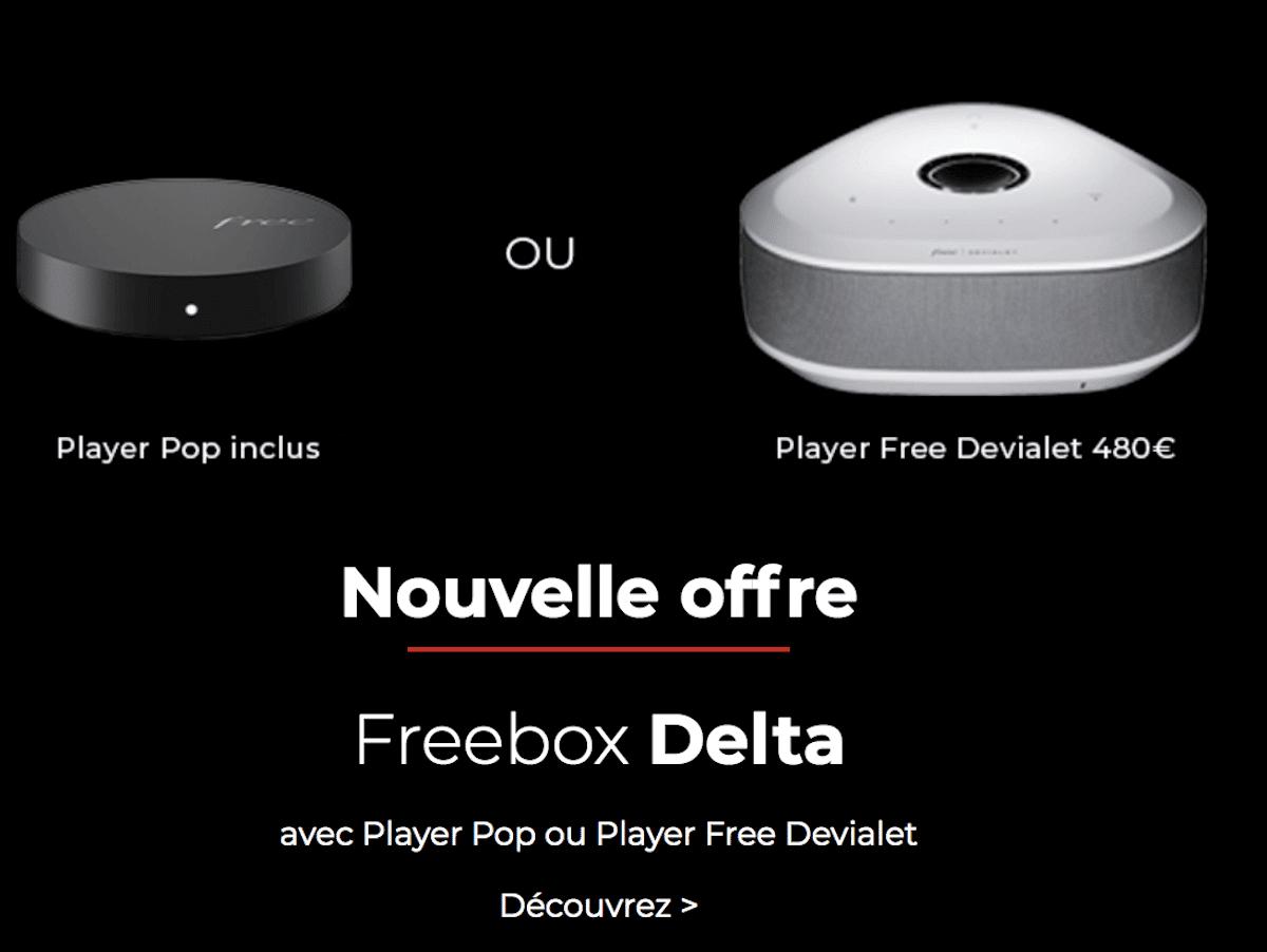 Box haut de gamme Free