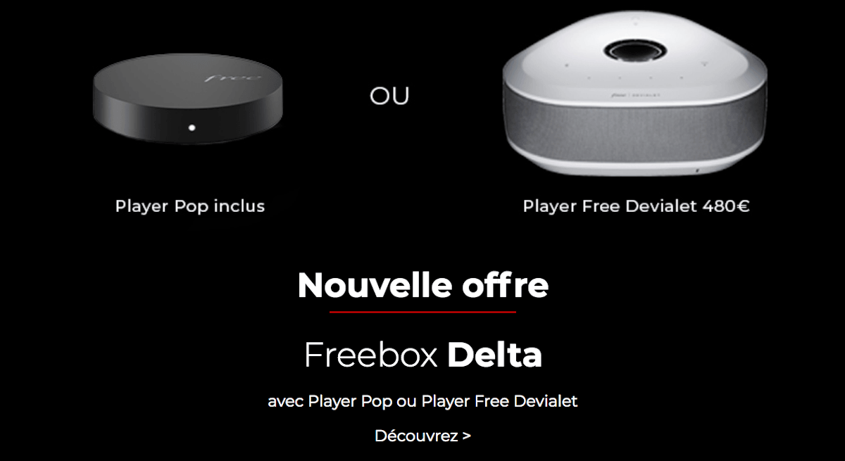 Box internet premium Freebox Delta