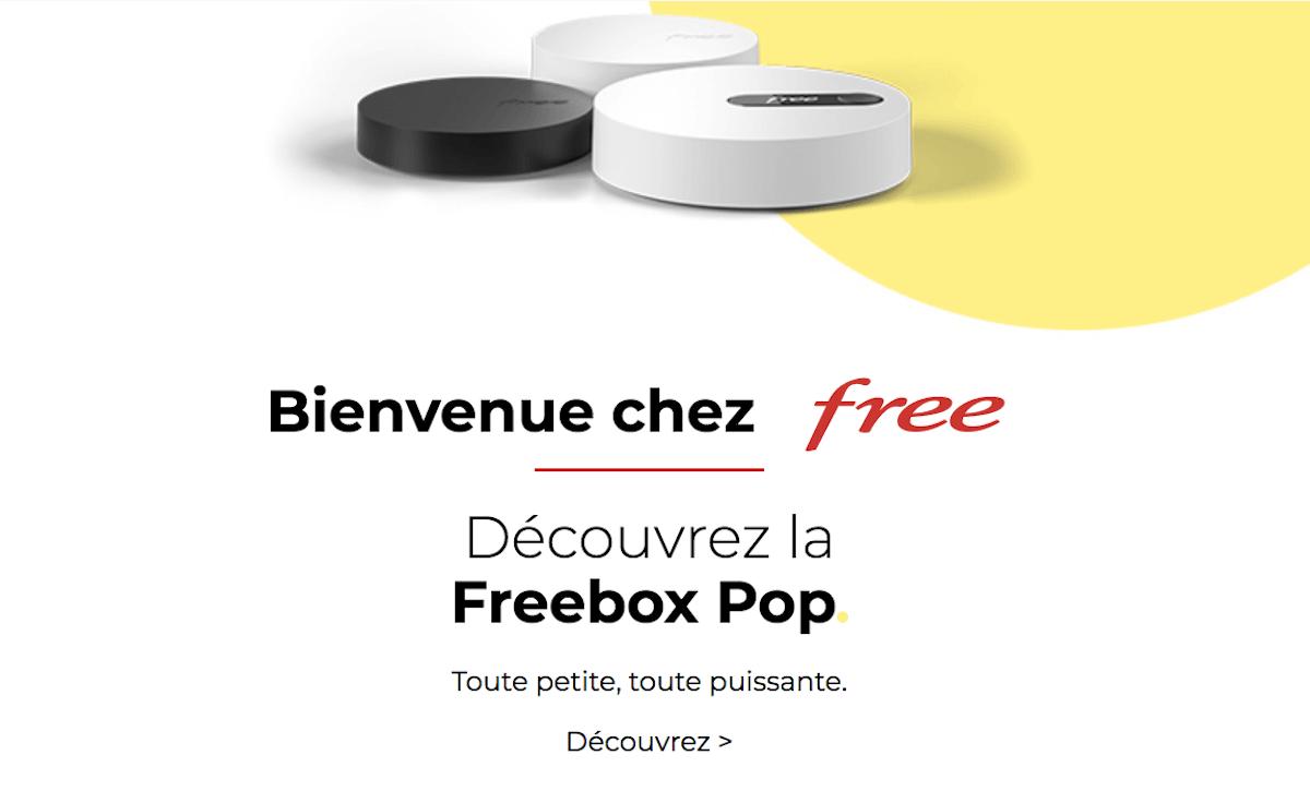 Box internet très haut débit Free