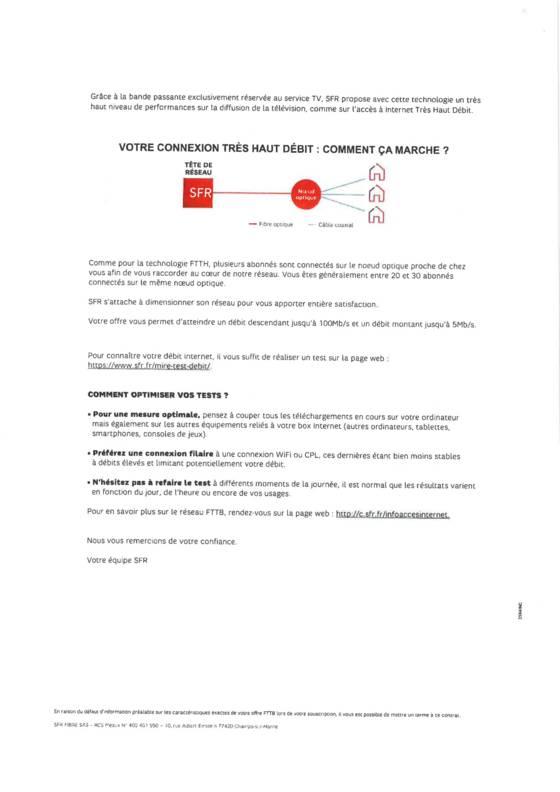 Fausse fibre SFR courrier page 2