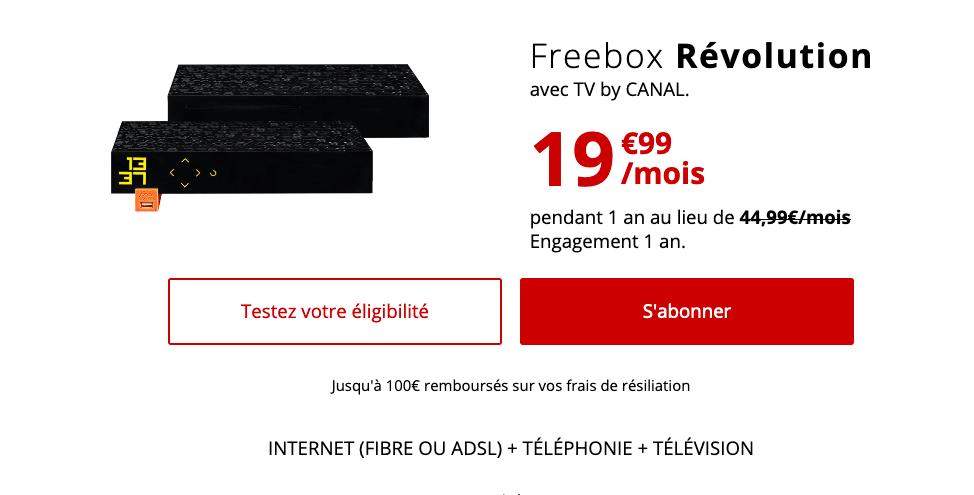 Freebox Revolution Recap box internet