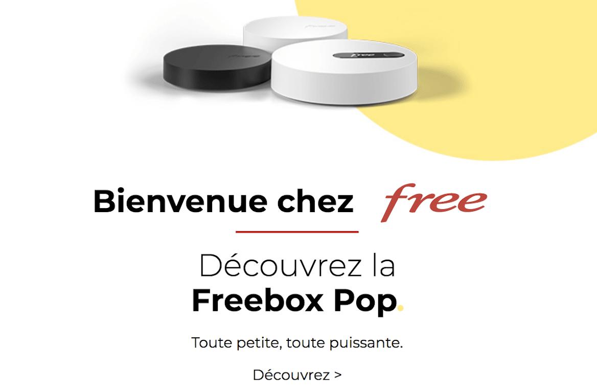 Offres Freebox Pop